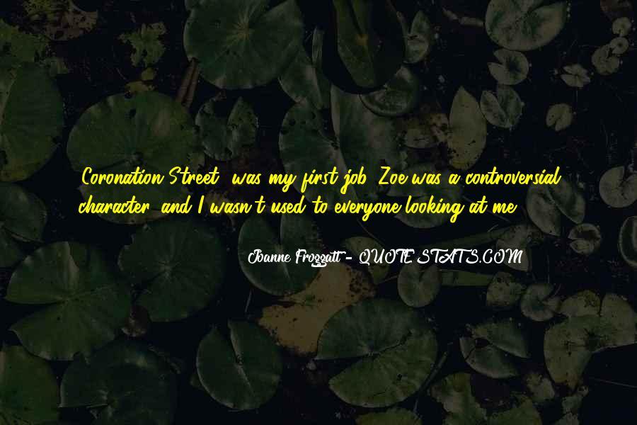 Joanne Froggatt Quotes #829789