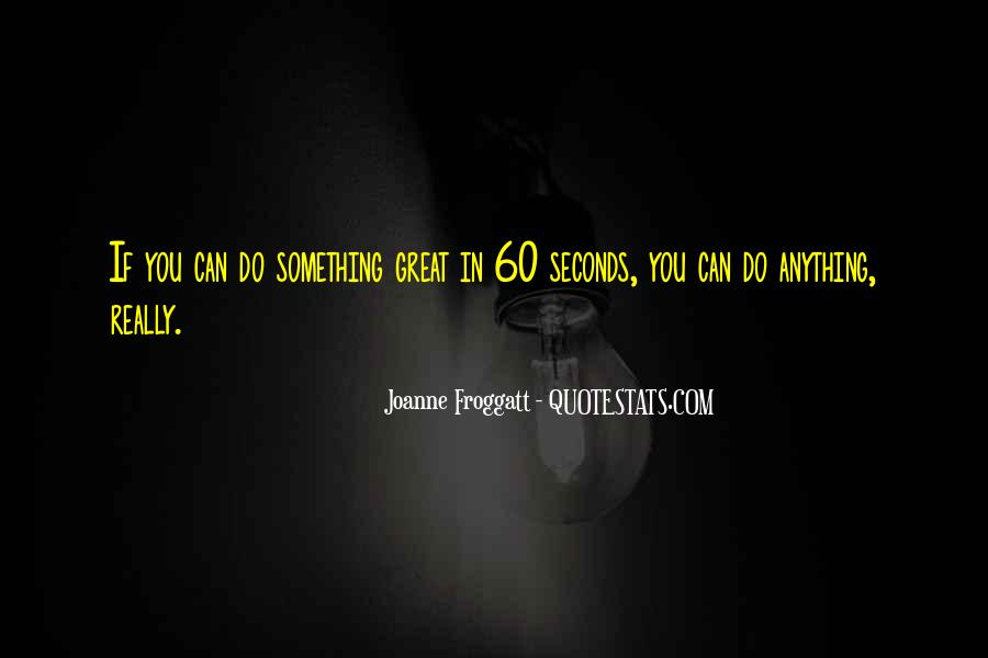 Joanne Froggatt Quotes #915243