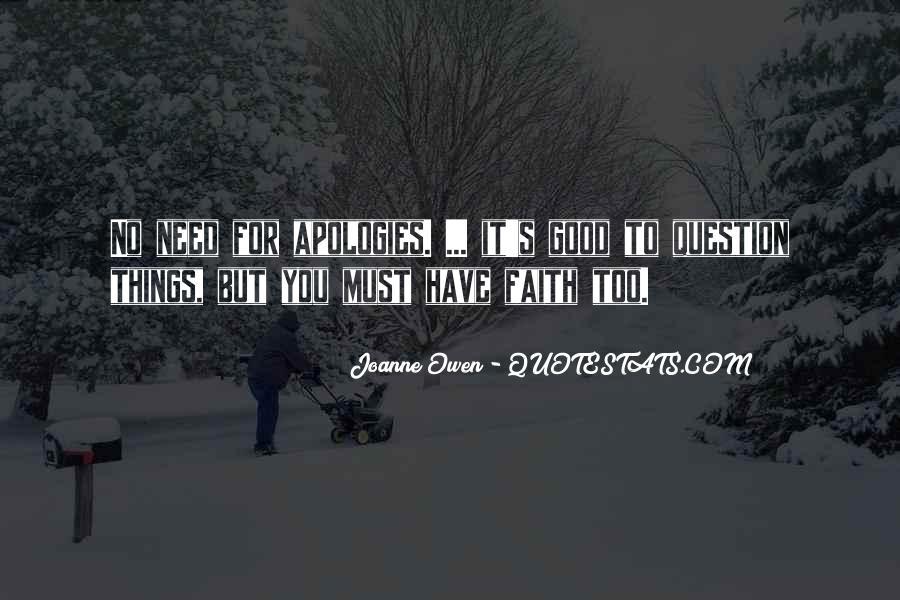 Joanne Owen Quotes #1526082