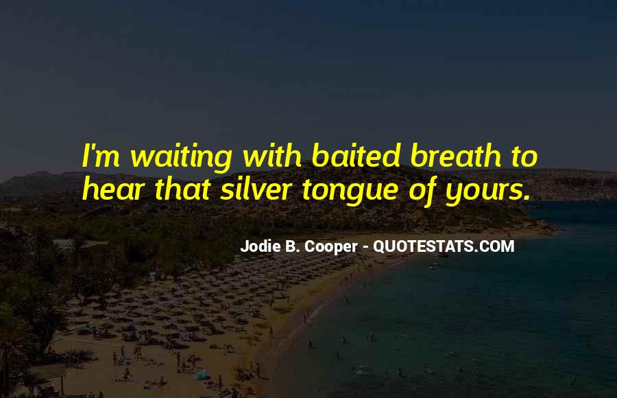 Jodie B. Cooper Quotes #1504967
