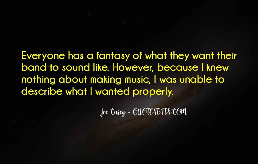Joe Casey Quotes #97518