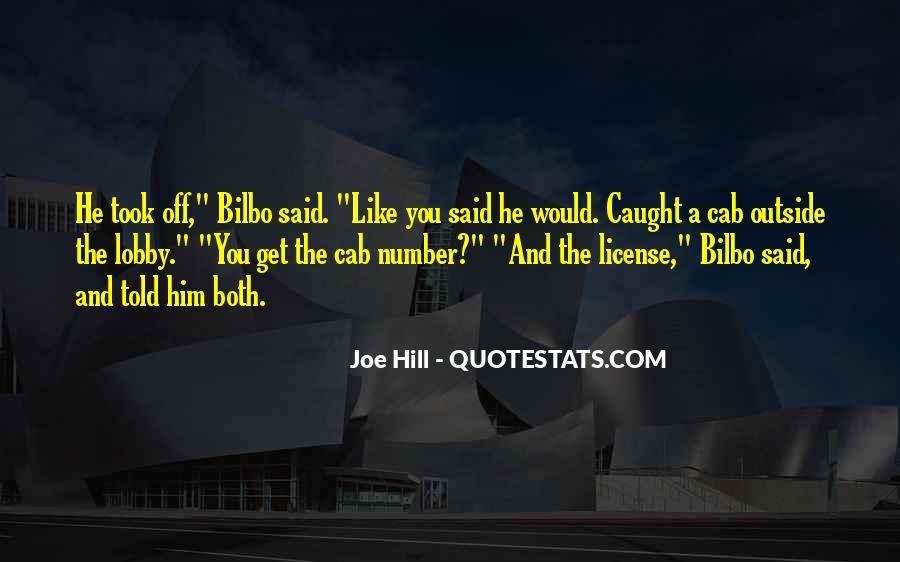 Joe Hill Quotes #1199089