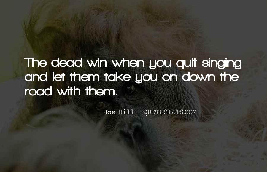 Joe Hill Quotes #1333150