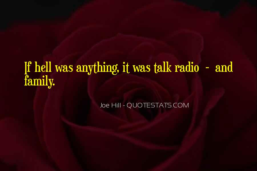 Joe Hill Quotes #1669017