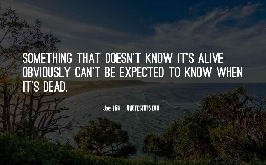 Joe Hill Quotes #485864