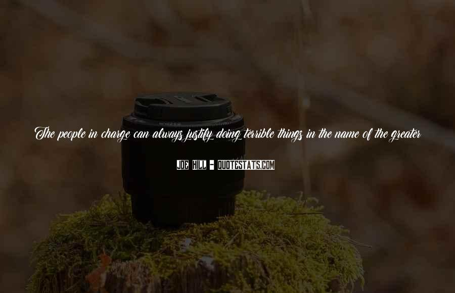 Joe Hill Quotes #744556
