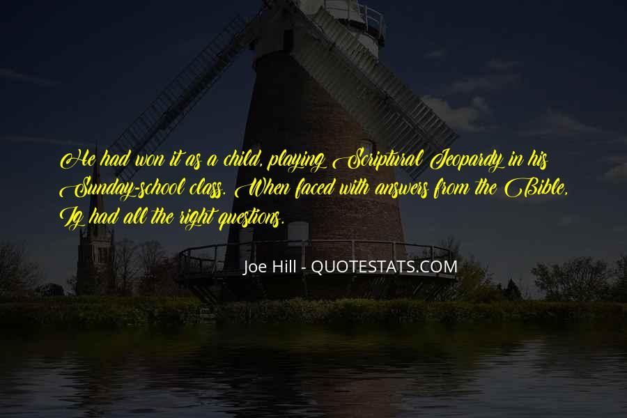 Joe Hill Quotes #895115