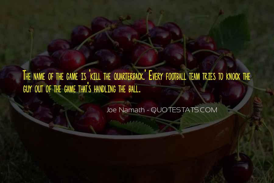 Joe Namath Quotes #101088