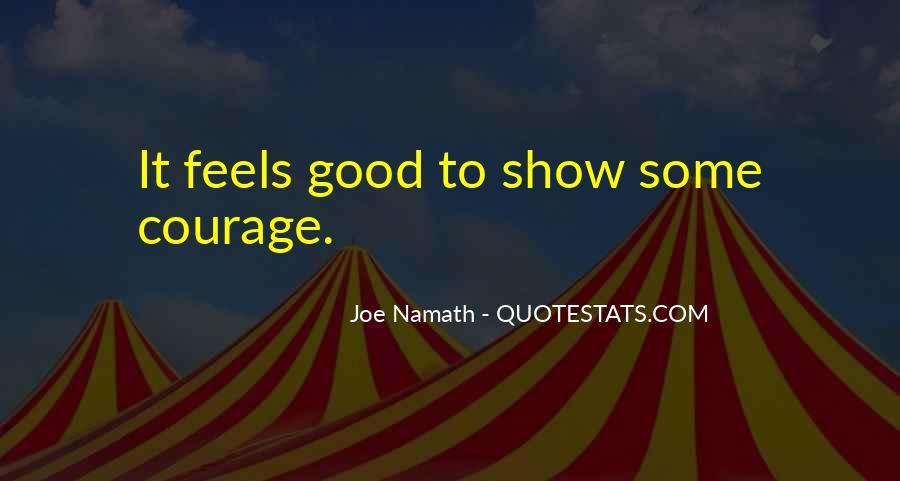 Joe Namath Quotes #1206890