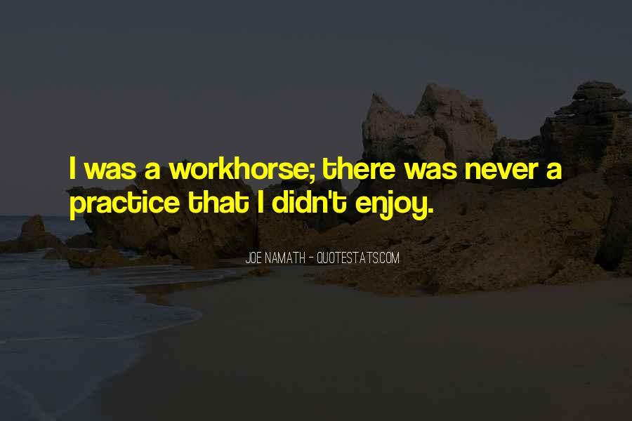 Joe Namath Quotes #1237066
