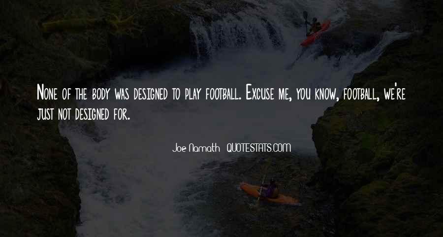 Joe Namath Quotes #1286449
