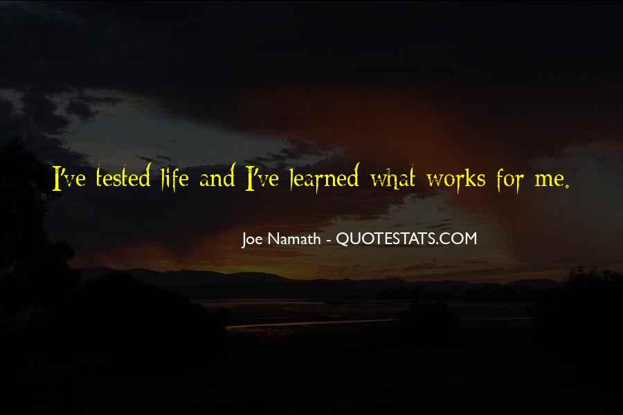Joe Namath Quotes #1386370