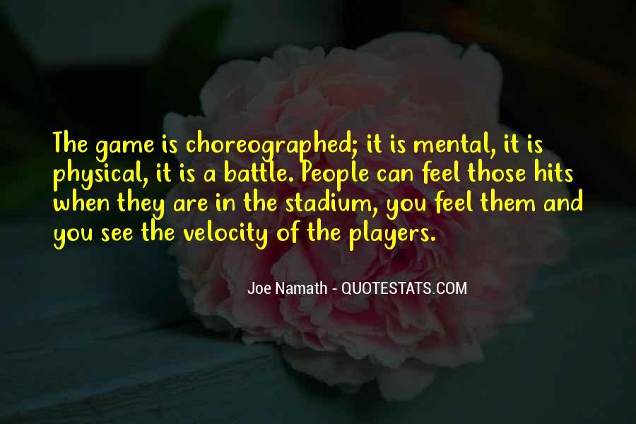 Joe Namath Quotes #1427282