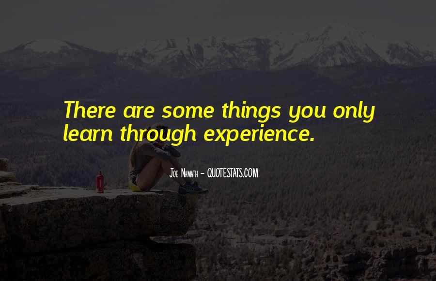 Joe Namath Quotes #1440906