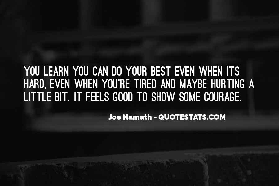 Joe Namath Quotes #1447319