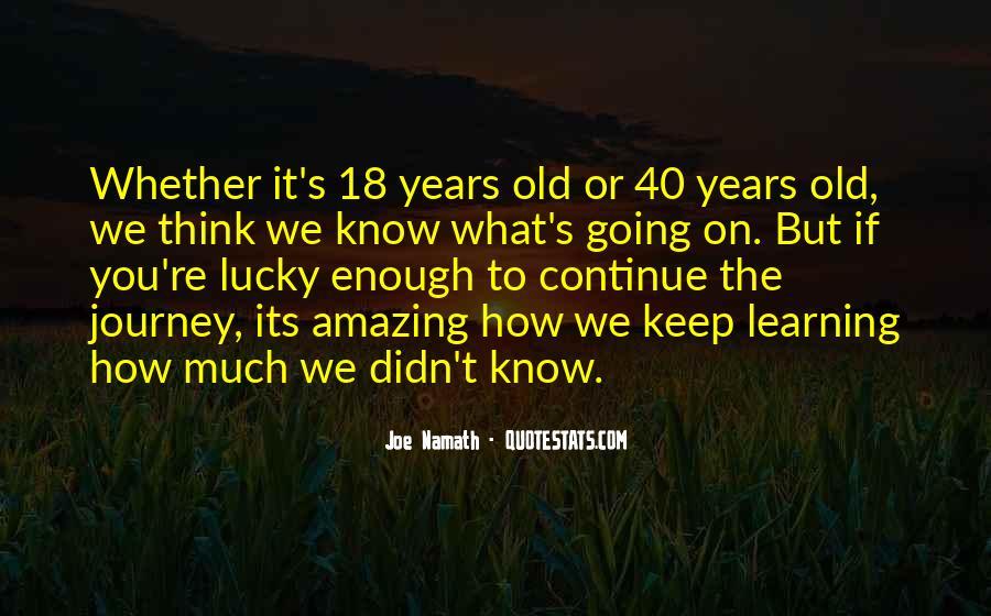 Joe Namath Quotes #1467862