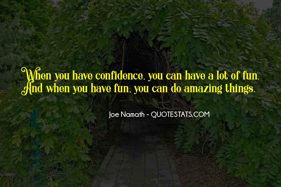 Joe Namath Quotes #1479862