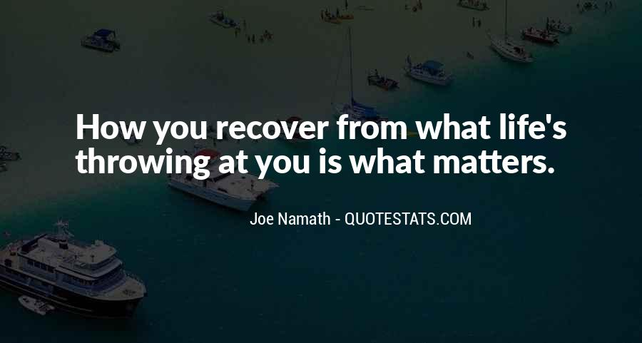 Joe Namath Quotes #1492875