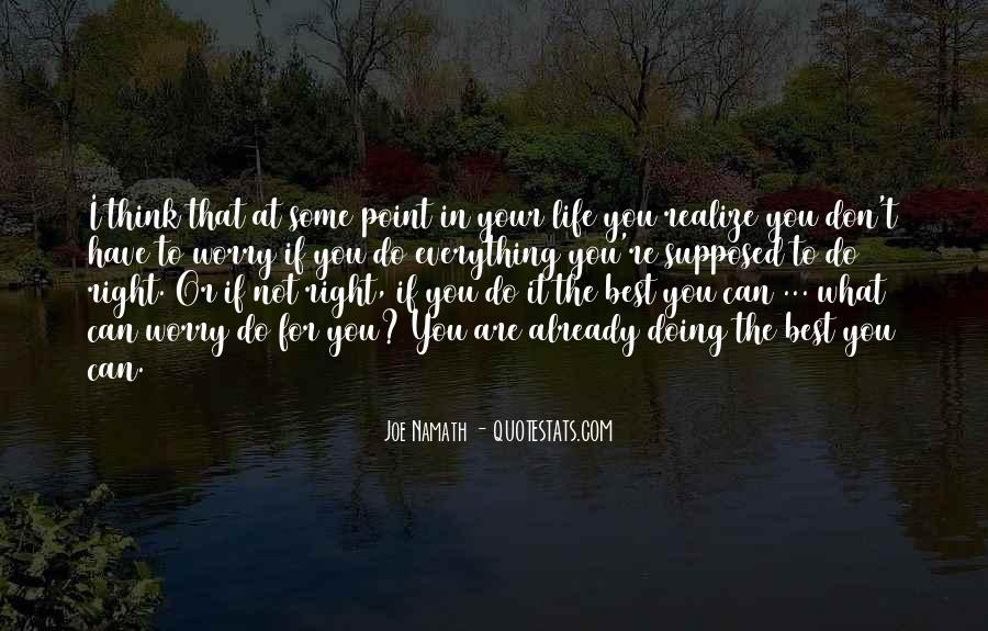Joe Namath Quotes #1493167