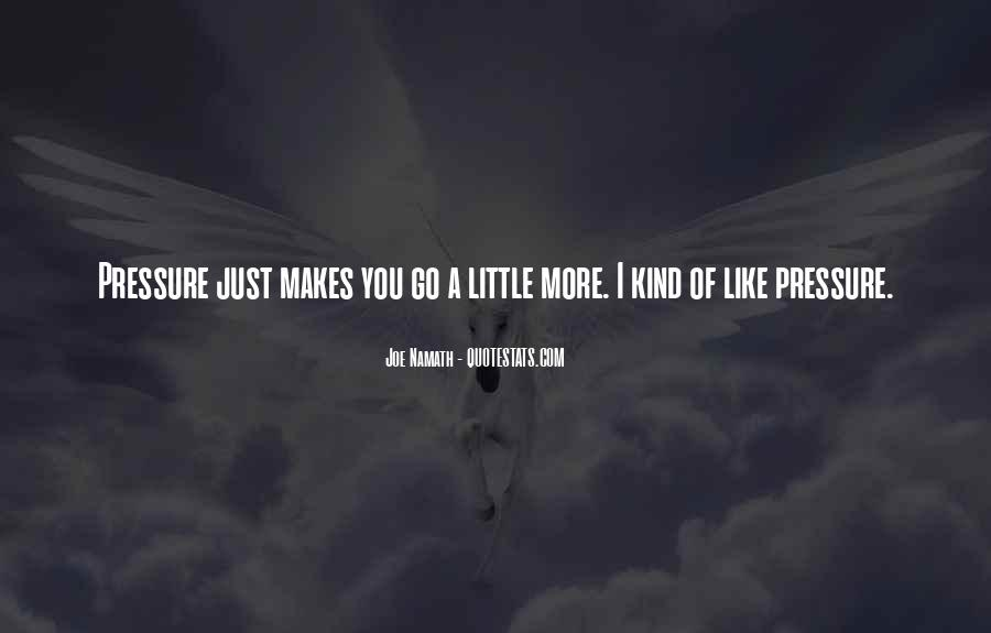 Joe Namath Quotes #1565409