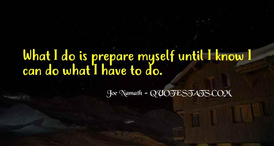 Joe Namath Quotes #1707510
