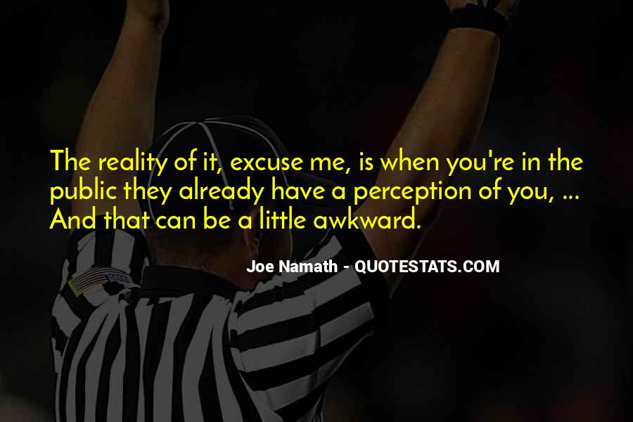 Joe Namath Quotes #256176