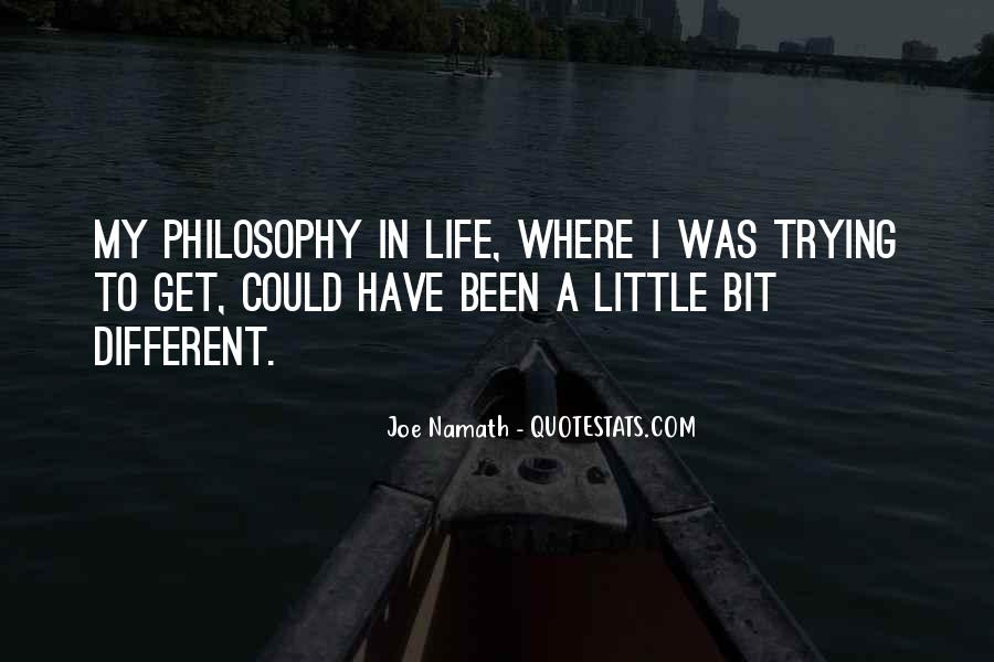 Joe Namath Quotes #583395