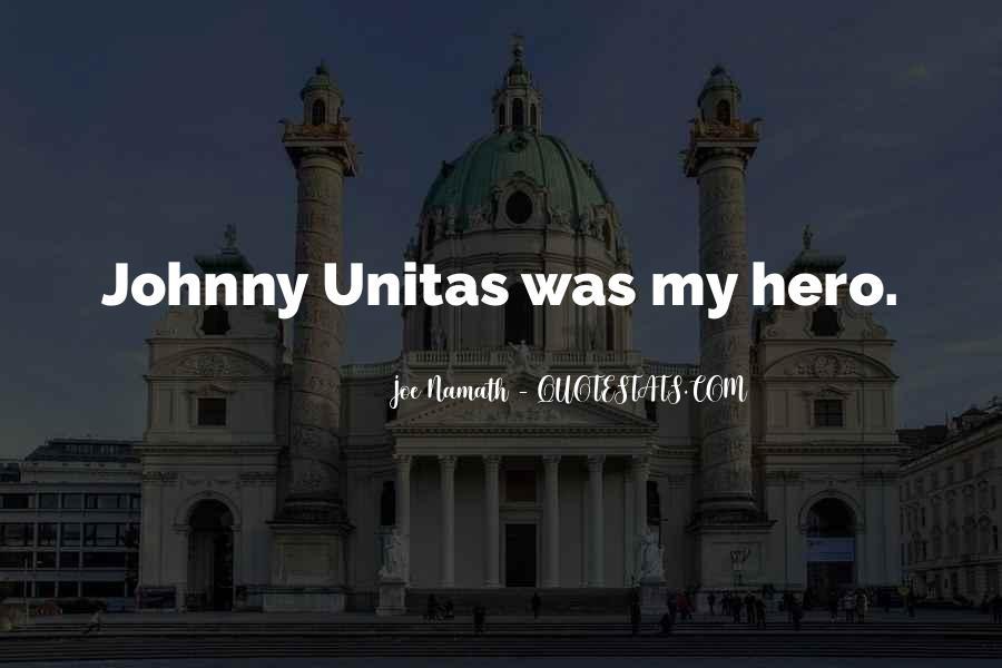 Joe Namath Quotes #632821