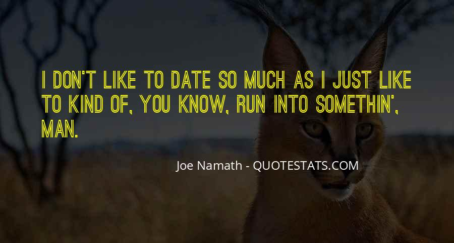 Joe Namath Quotes #701550