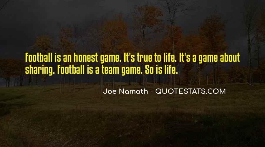 Joe Namath Quotes #706334