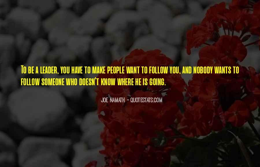 Joe Namath Quotes #847658