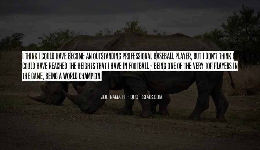 Joe Namath Quotes #861163