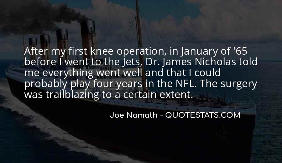 Joe Namath Quotes #879901
