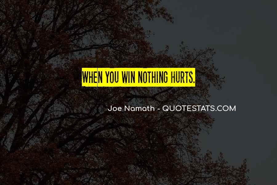 Joe Namath Quotes #962134