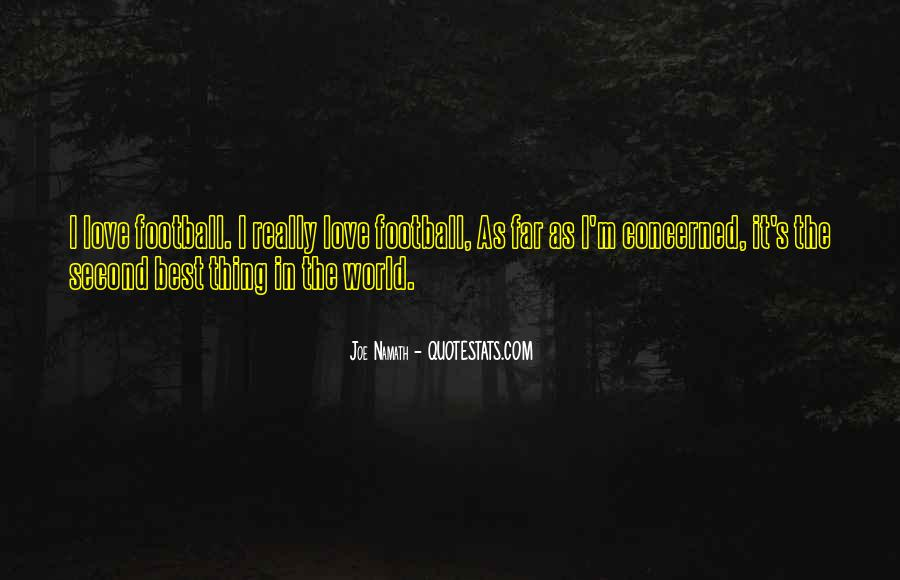 Joe Namath Quotes #966216