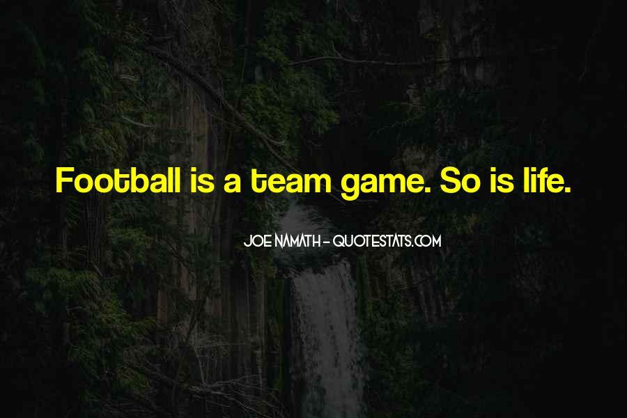Joe Namath Quotes #969422