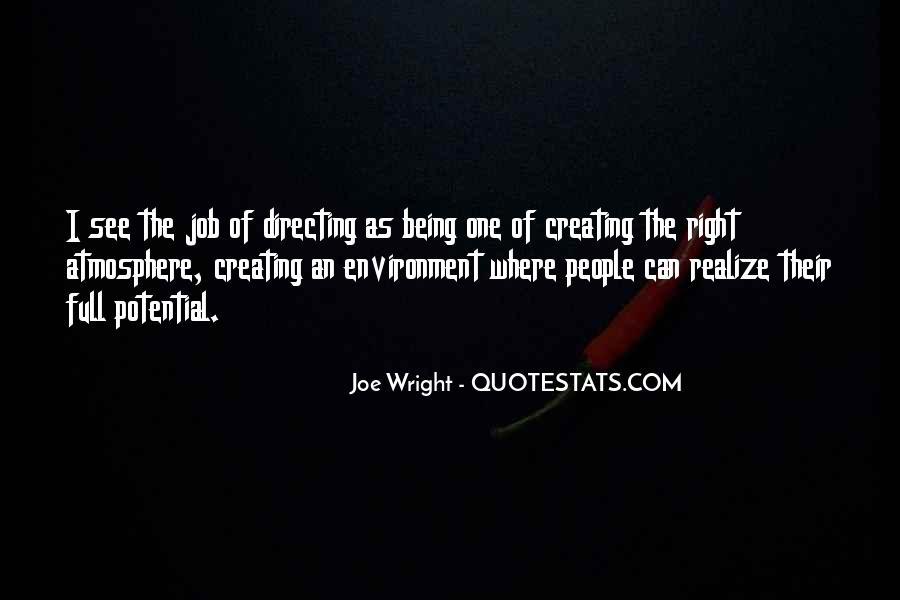 Joe Wright Quotes #1072025
