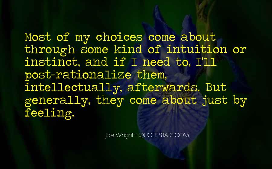 Joe Wright Quotes #468782