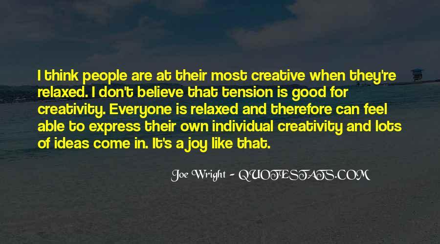 Joe Wright Quotes #495228