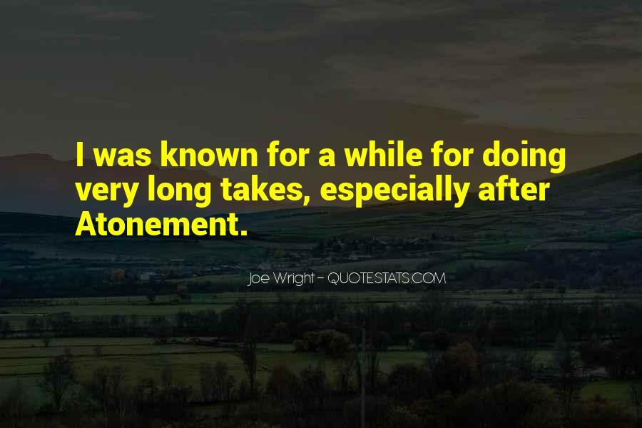 Joe Wright Quotes #896246