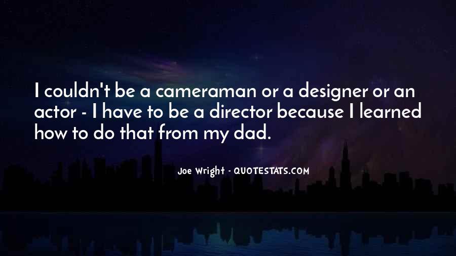 Joe Wright Quotes #997907