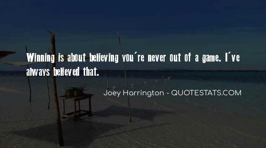 Joey Harrington Quotes #720535