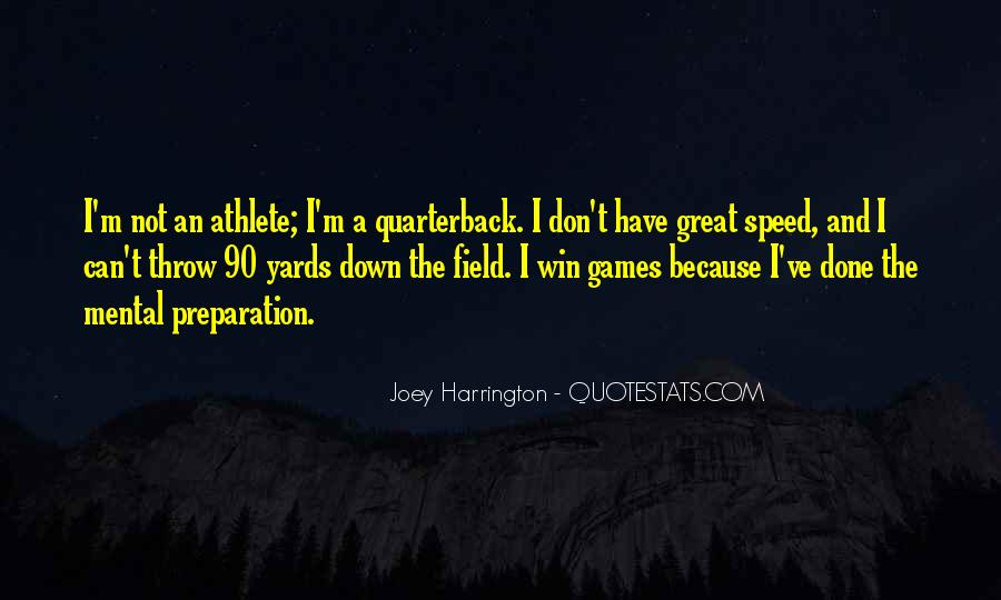 Joey Harrington Quotes #780364