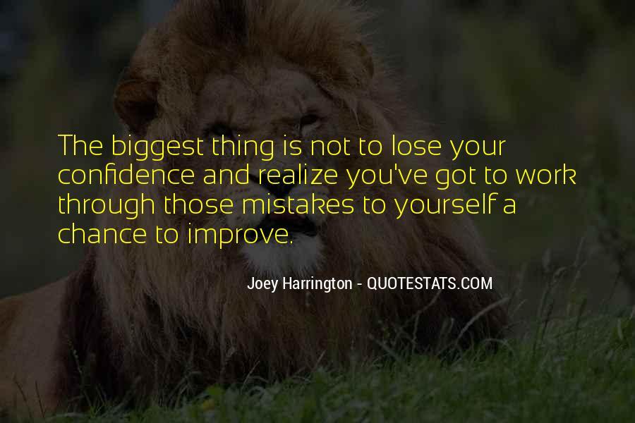 Joey Harrington Quotes #965196