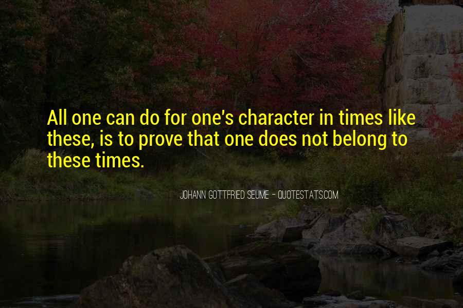 Johann Gottfried Seume Quotes #1580635