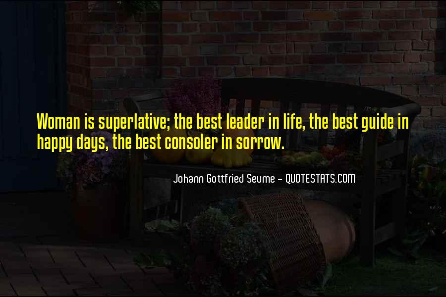 Johann Gottfried Seume Quotes #337299