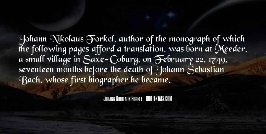 Johann Nikolaus Forkel Quotes #385556