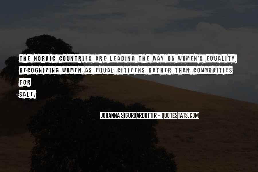 Johanna Siguroardottir Quotes #583576