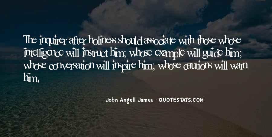 John Angell James Quotes #1629868