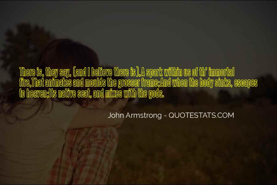 John Armstrong Quotes #507995